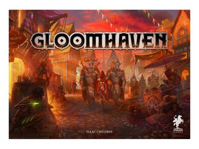 Board game night: Gloomhaven