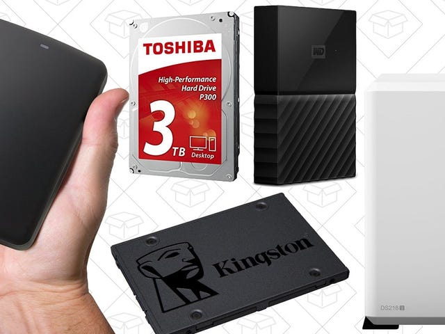 Celebrate The Weekend's Big Holiday (World Backup Day) With This One-Day Sale On Amazon