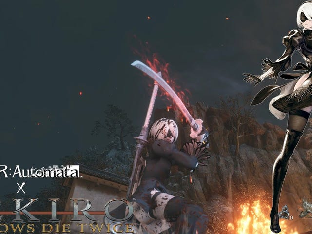 Thanks to this mod, 2B comes to Sekiro