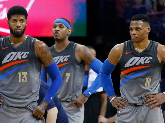 Cops: Man Threatened To Blow Up Oklahoma City Because The Thunder Got Rid Of Carmelo Anthony, Paul George, And Russell Westbrook