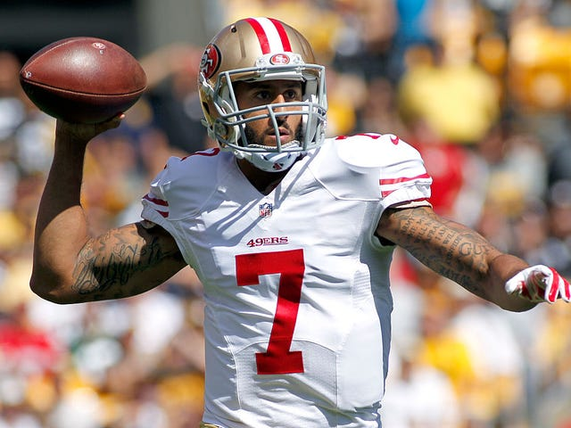 The Real Reason the Ravens Are Afraid to Hire Kaepernick: He's Mr. Steal-Your-Job