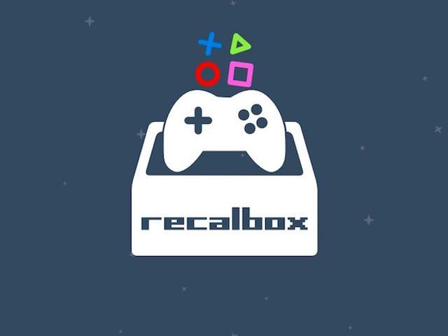 Recalbox è un sistema operativo di emulatore di giochi semplificato per Raspberry Pi