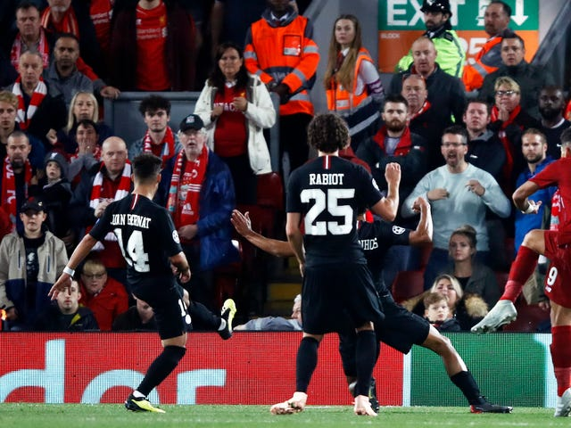 Liverpool Righteously Owned PSG In A Champions League Classic