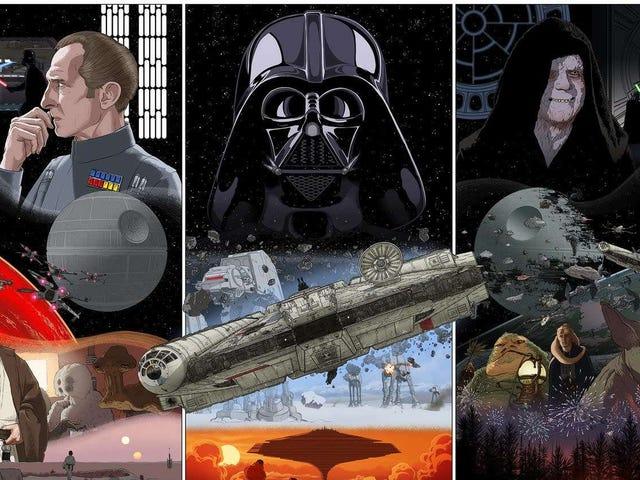 Bu Tatlı Triptik Poster, Skywalker Saga'nın Doğumu İçin Sonunda Anıyor