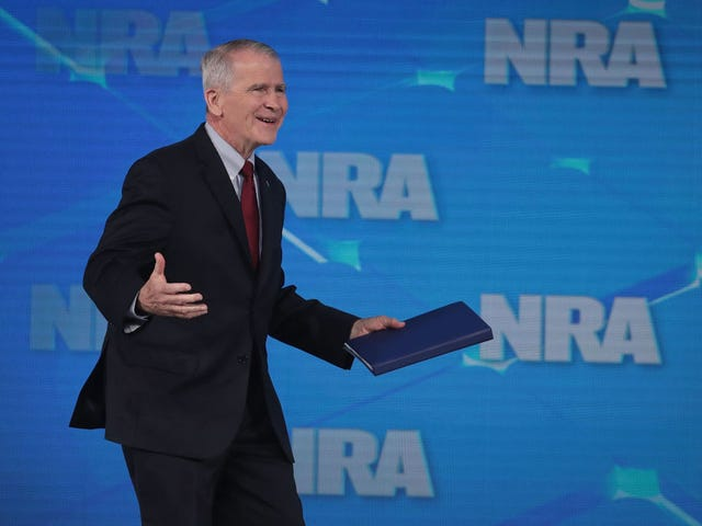 Oliver North Out As NRA President After Wayne LaPierre Exposes Alleged Threats