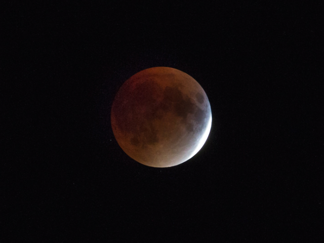 Cómo ver la Super Blue Blood Moon