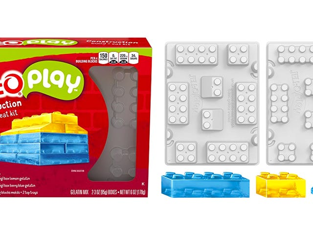 Jell-O's New 'Special Recipe' Kit Lets You Make Jiggly Blocks That Stack Like Lego