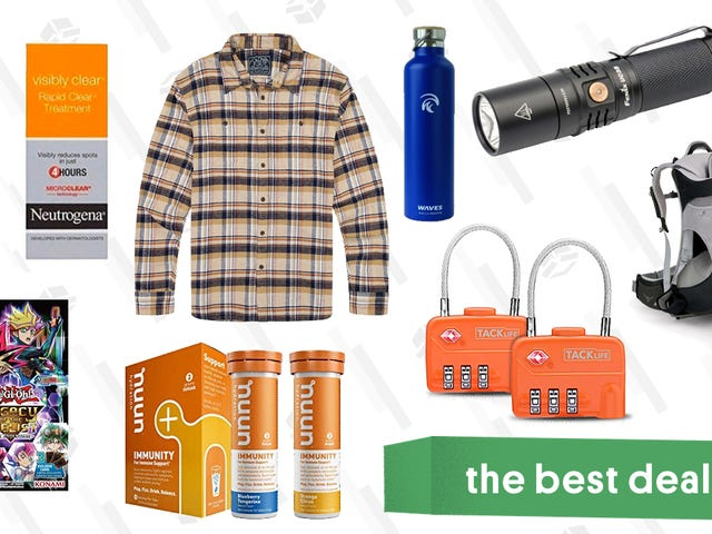 Wednesday's Best Deals: Luggage Locks, REI Clearance, Nuun Gold Box, and More
