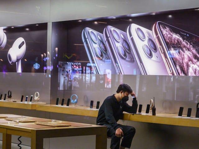 蘋果因冠狀病毒爆發而關閉在中國的所有商店和公司辦事處