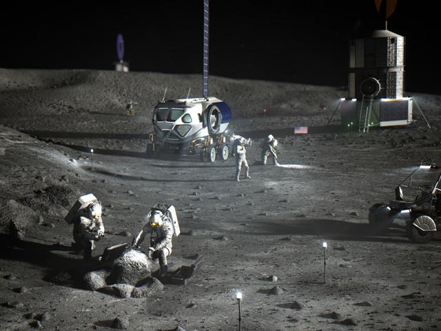 NASA Finally Puts a Price Tag on 2024 Moon Landing