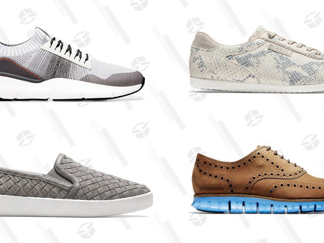 Get the Cole Haan Shoes Of Your Dreams With An Extra 40% Off Sale Prices