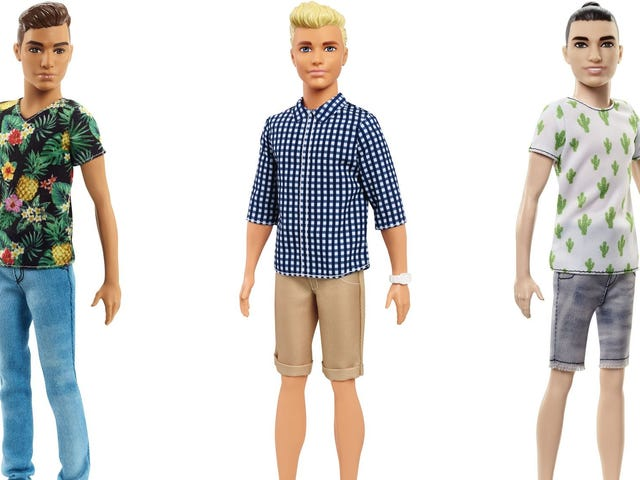 Ken Has a Man Bun Now, Just As Your Child Requested