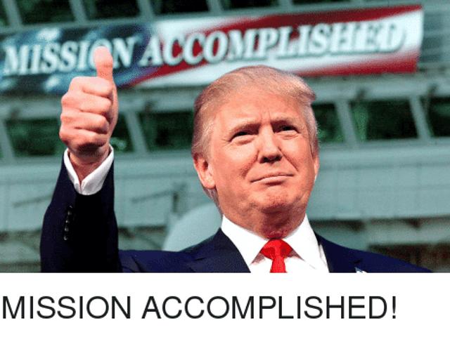 Mission Accomplished [Politic]