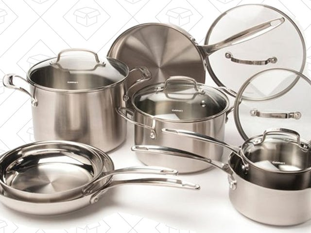 Upgrade All of Your Pots and Pans For Just $130, Today Only