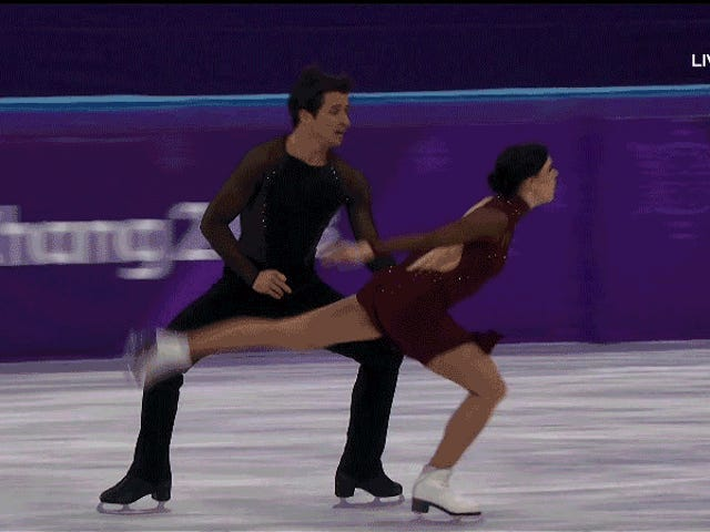 Tessa Virtue And Scott Moir Moulin Rouge-d Their Way To Another Olympic Gold Medal