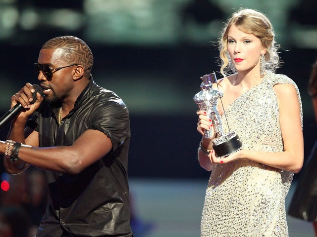 It's Been 10 Years Since Kanye West Barely Let Taylor Swift Finish. Now, Producers Are Spilling Behind-the-Scenes Tea