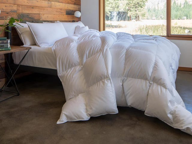 Feathered Friends' Down Comforters Will Exceed Your Loftiest Ambitions