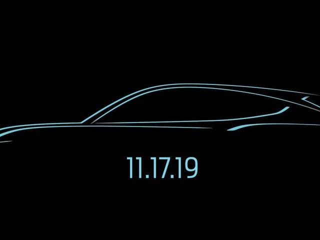 Elektrisk Ford SUV bærer hud af en Mustang, der stadig sker næste måned