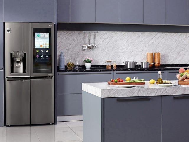 Vil de nye AI-køleskabe fra Samsung og LG være i stand til at identificere indholdet af dit køleskab?