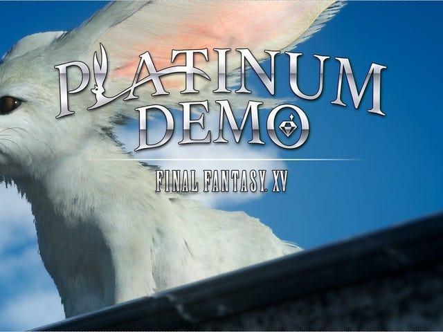 <i>Platinum Demo: Final Fantasy XV</i> Impressions