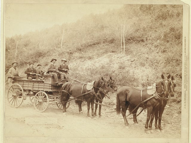 Deadwood Treasure Wagon and Guards
