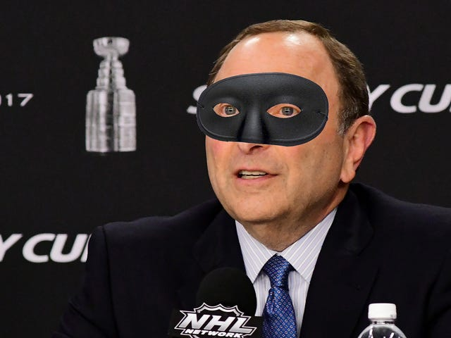 NHL Apologizes For Those Emails You Received From An Obviously Fake Gary Bettman