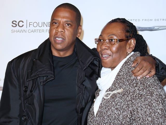 """Jay-Z: n äiti, Gloria Carter, saa erityistä tunnustuspalkintoa """"Smile"""" GLAAD Media Awards -palkinnolla"""