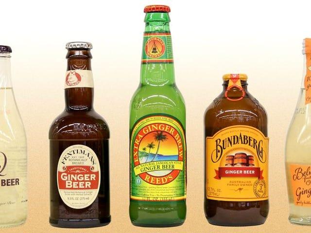 Delektuj się przyjemnymi przypaleniami imbirowego piwa