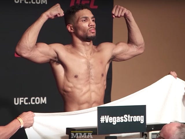 UFC Dickhead Allowed To Pull Off Unscrupulous Weigh-In Shenanigans