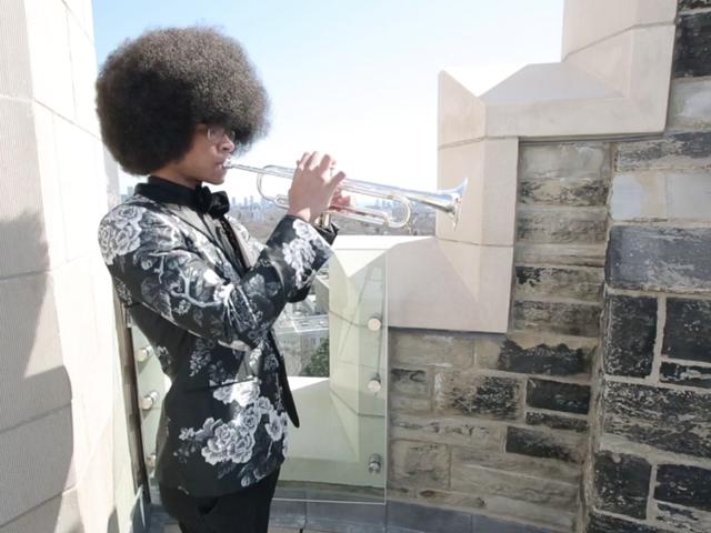 Getalenteerde tiener-trompettist is net Juilliard geworden, maar zijn gezin heeft hulp nodig voor het prijskaartje van $ 71.000