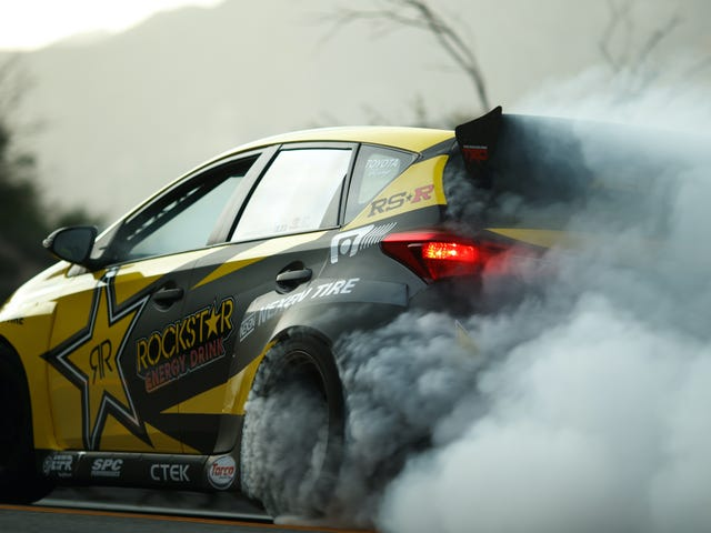 Of Course You Release A Corolla iM Drift Car With A Tribute To Initial D