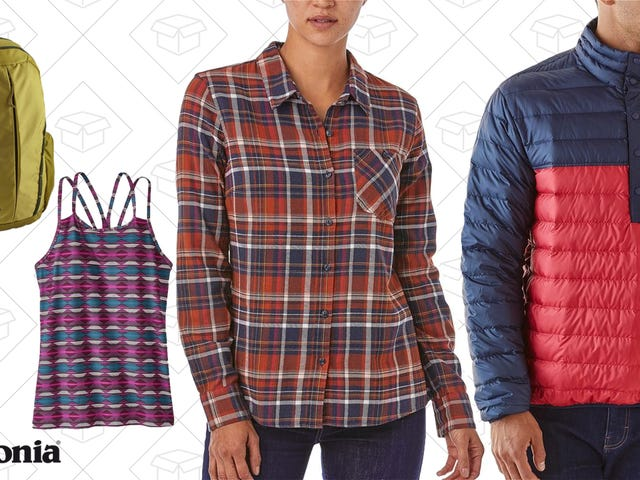 Outfit Yourself In Everything From Patagonia For Up to 50% Off
