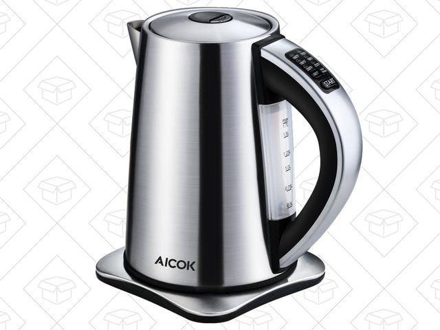 This $34 Electric Kettle Includes Six Different Temperature Settings