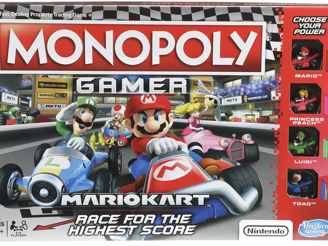 The Latest Twist On Monopoly Is... <i>Mario Kart</i>