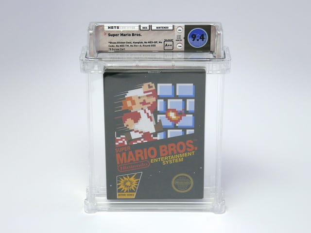 Sealed Copy Of Super Mario Bros. Sells For A Record-Breaking $100,150