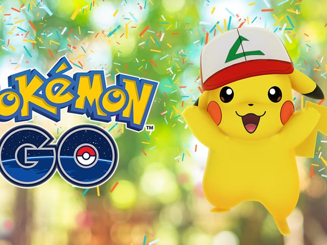 Pokémon Go's Anniversary Event Will Let You Capture Ash's Pikachu