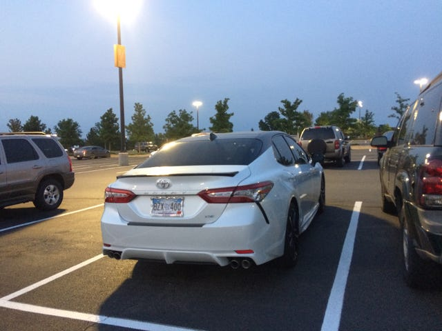 This Camry is hideous