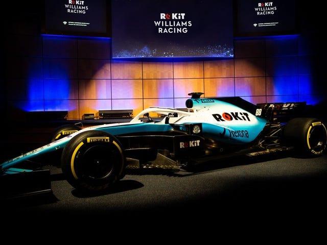 ウィリアムズF1は2019年にスカイブルーになり、アルコールスポンサーをダンプ