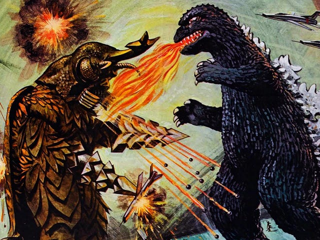 Toho is planning a Godzilla cinematic universe, even though it already did that