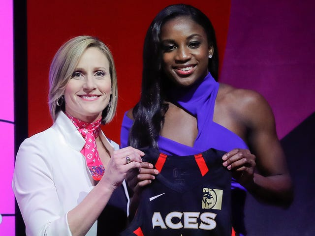 Las Vegas Aces Choose Jackie Young Over Asia Durr In WNBA Draft