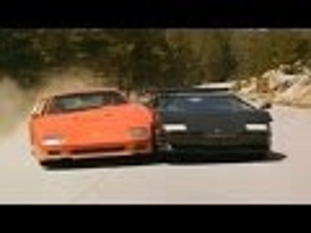 Incredible music video. F40 and Countach kit cars. I think a Blazer rolls.