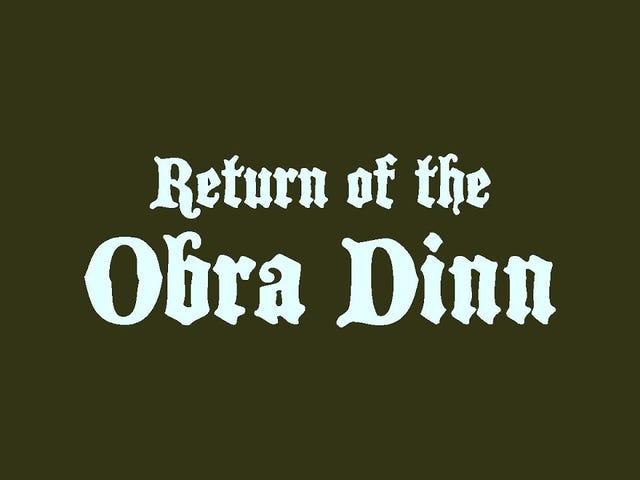 Lucas Pope, nhà phát triển đằng sau Papers, Xin vui lòng, nói rằng trò chơi mới của mình, Return of the Obra Dinn, nên