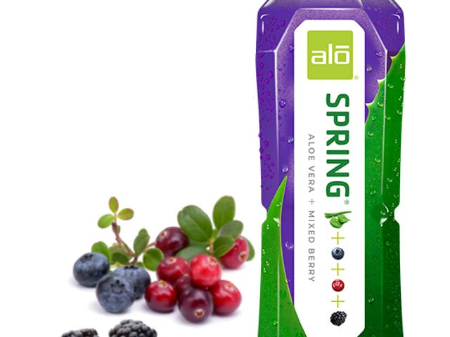 """Drink Review - Alo """"Spring"""" - Aloe & Mixed Berry & Botulism"""