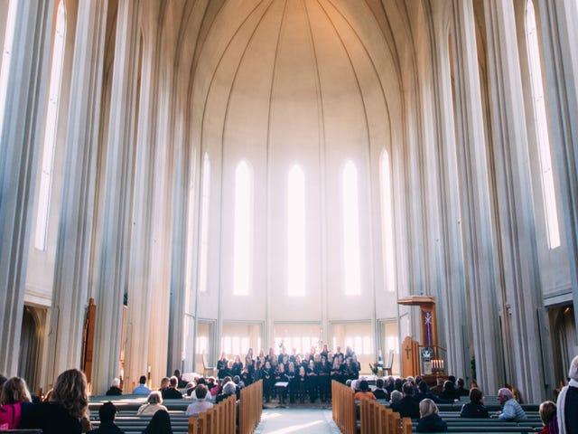 Ga naar de kerk als je op vakantie bent