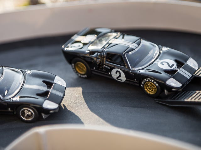 GT40's on the Diorama