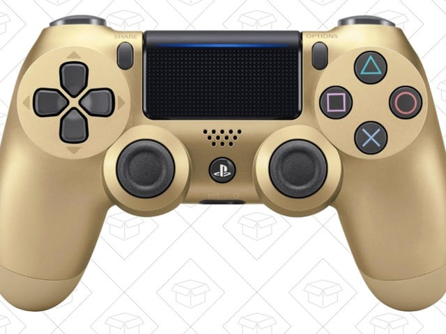The Price of Gold (PS4 Controllers) Is Falling