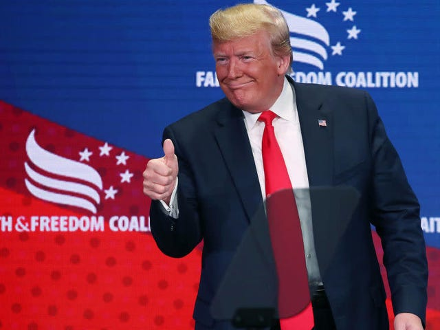 Poll Finds Trump's Racist Dog Whistle Works With Racists; Republican Support Increases After Racist Tweets
