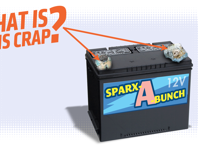 Here's The Deal With That White And Blue Crap On Your Car's Battery Terminals