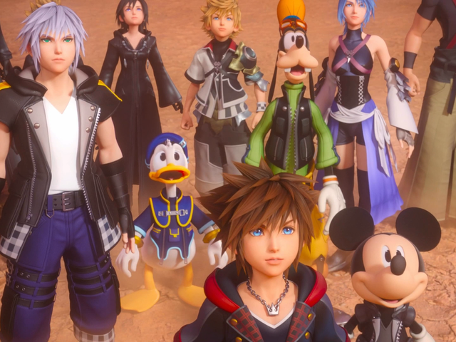 Kingdom Hearts III's New DLC Is My Kind Of Anime Nonsense, On Steroids