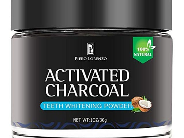 80% off Piero Lorenzo Natural Activated Coconut Charcoal Teeth Whitening Powde $3.4